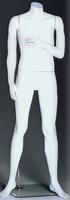 Headless Male Mannequin: Left Arm Bent