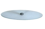 Replacement Oval Glass Mannequin Base